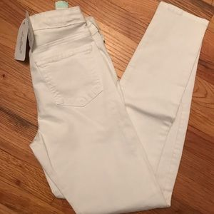 Just black white skinny new size 27